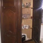 Flemish corner pantry